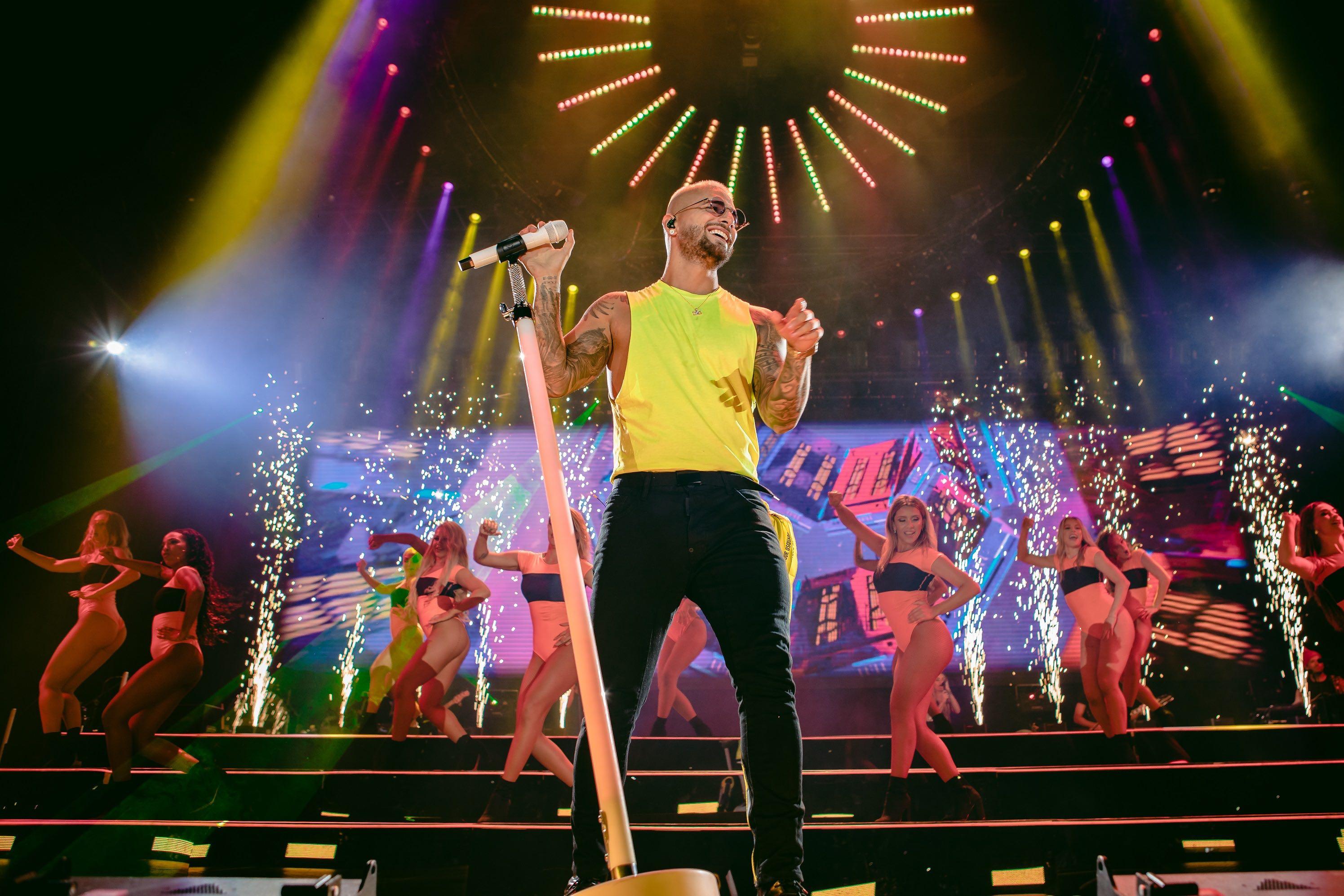Maluma Tour 2020.Maluma The 02 Reggaeton Co Uk